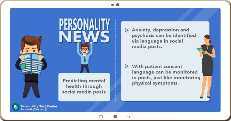 Predicting mental health through social media posts
