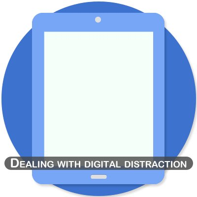 Dealing with digital distraction