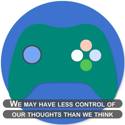 We may have less control of our thoughts than we think